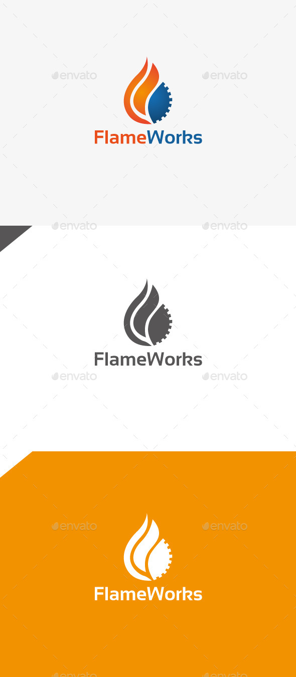 GraphicRiver Flame Works 9948575