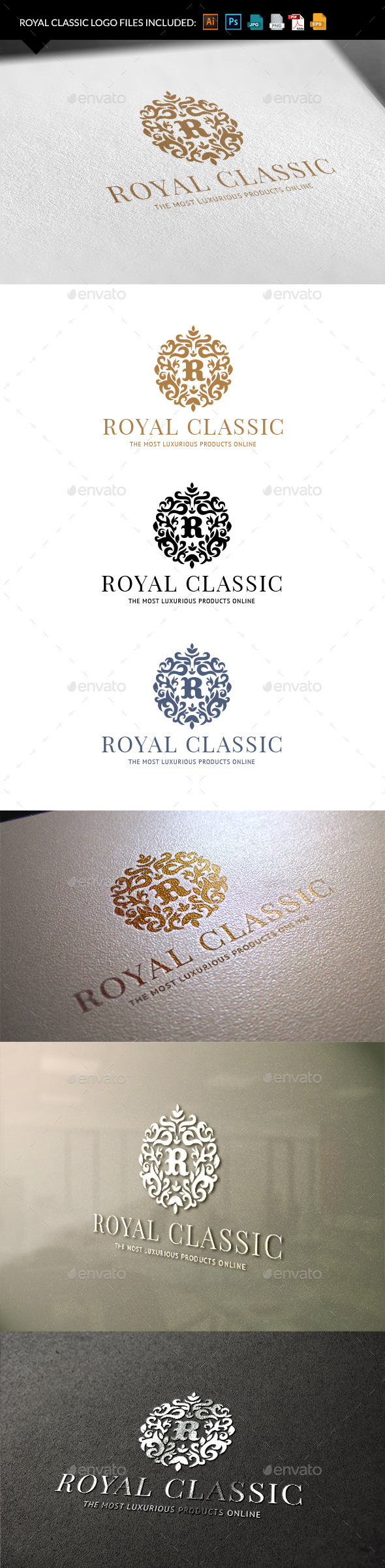 GraphicRiver Royal Classic 9940997