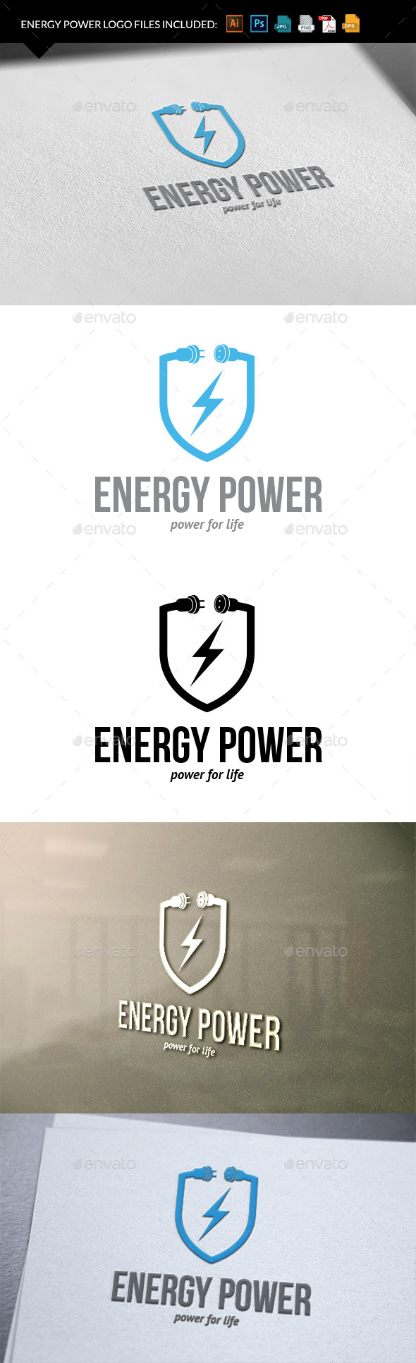 GraphicRiver Energy power 9940626