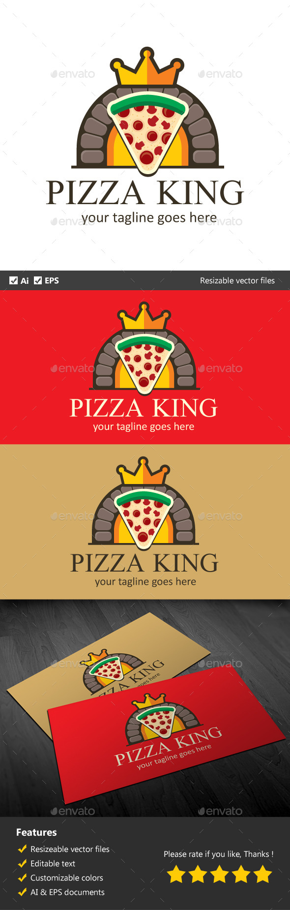 GraphicRiver Pizza King 9949745