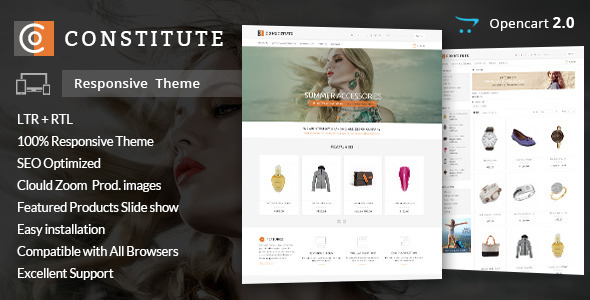 Constitute - Opencart Responsive Theme Download