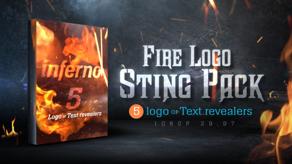 Fire Logo Sting Pack