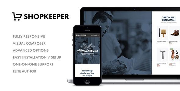 Shopkeeper Responsive WordPress Theme