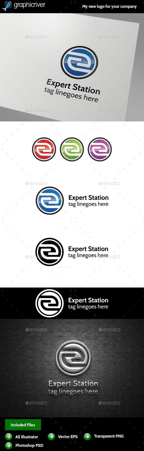 GraphicRiver Letter E Logo 9950359
