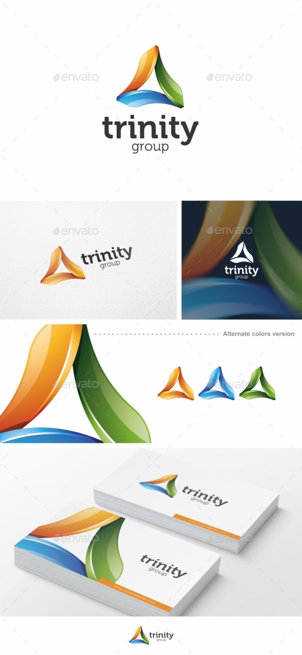 GraphicRiver Trinity Group Logo Template 9950507