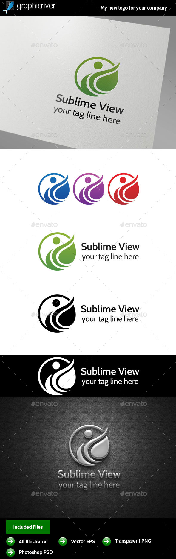 GraphicRiver Sublime View logo 9950547