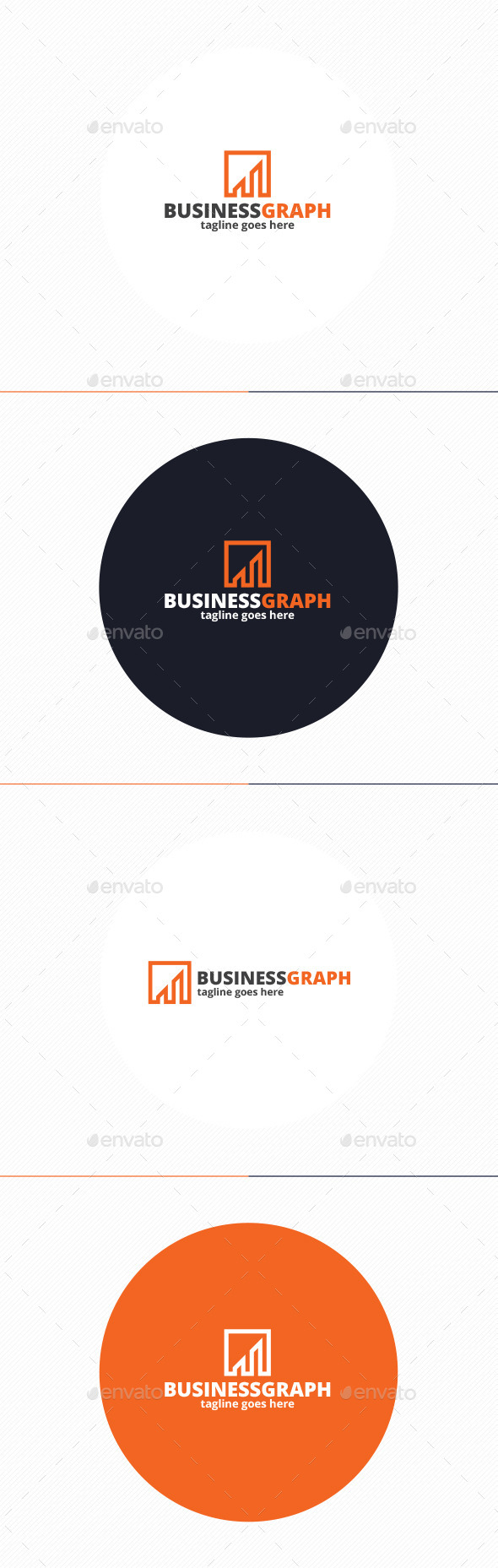 GraphicRiver Business Graph Logo 9950550