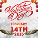 Valentine Day Party Facebook Cover - GraphicRiver Item for Sale