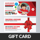 Kids School Gift Voucher Template - GraphicRiver Item for Sale