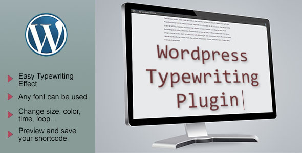CodeCanyon Animated Typewriter Effect A Premium WordPress Plugin 9917107