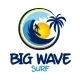 Big Wave Surf Logo - GraphicRiver Item for Sale