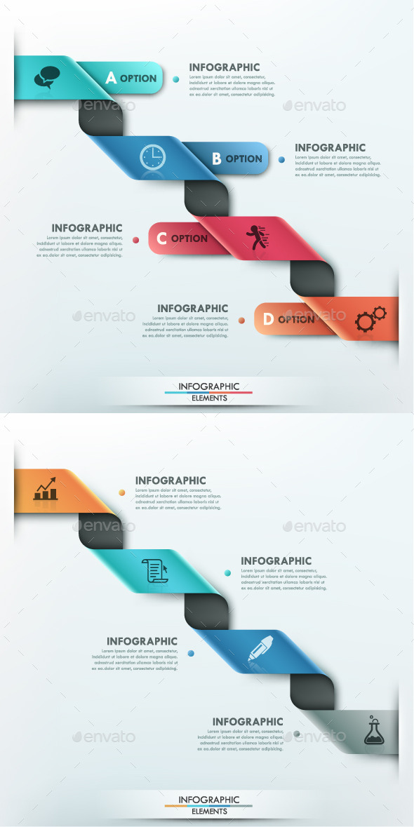 GraphicRiver Modern Infographic Options Template 2 Items 9951138