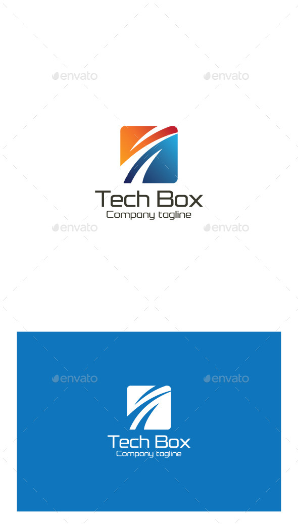 GraphicRiver Tech Box Logo 9951252