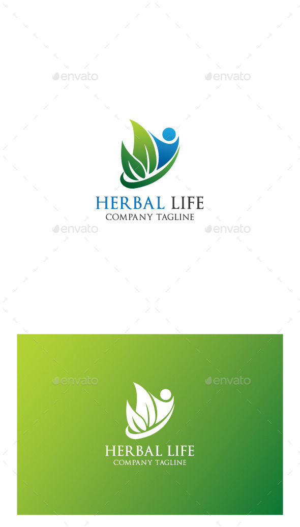 GraphicRiver Herbal Life Logo 9951276
