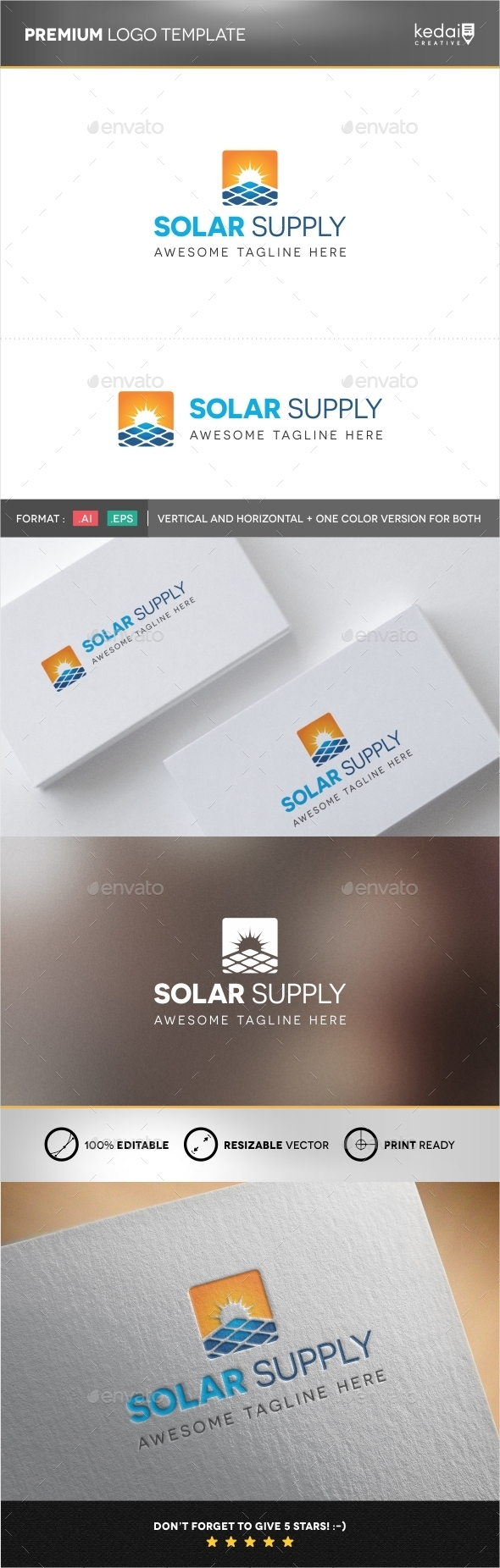 GraphicRiver Solar Supply 9951435
