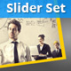 Set Of 5 Business Sliders - GraphicRiver Item for Sale