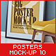 Posters Mock-Up vol.10
