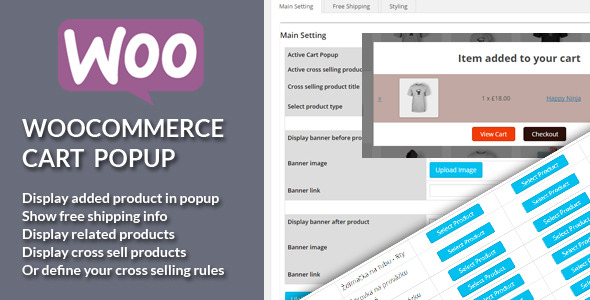 WooCommerce Add To Cart PopUp