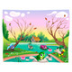 Animals in the Pond - GraphicRiver Item for Sale