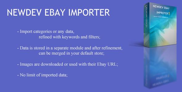 CodeCanyon OpenCart Ebay Importer 9900671