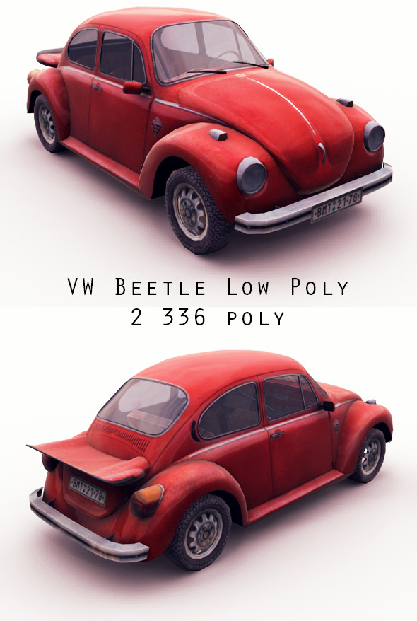 3DOcean VW Beetle 9952772