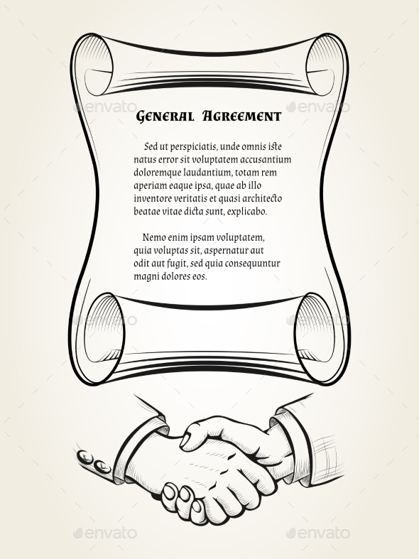 GraphicRiver General Agreement 9952964