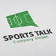 Sports Talk Logo - GraphicRiver Item for Sale