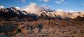 Alpine Sunrise Alabama Hills Sierra Nevada Range California - PhotoDune Item for Sale