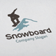 Snowboard Logo - GraphicRiver Item for Sale