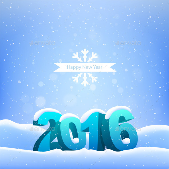 GraphicRiver Happy New Year 2016 9953464