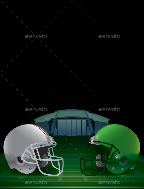 GraphicRiver American Football Championship Illustration 9953693