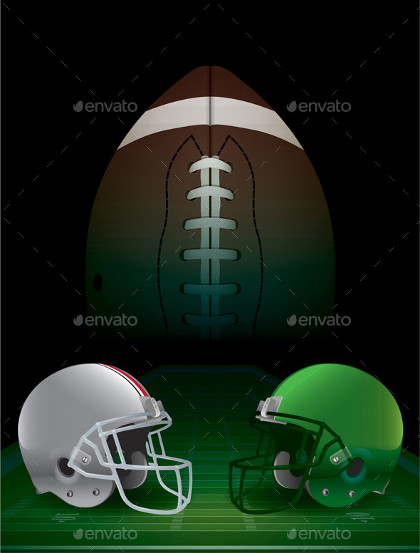 GraphicRiver American Football National Championship 9953695