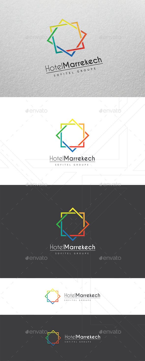 GraphicRiver Marrekech Logo Template 9953699