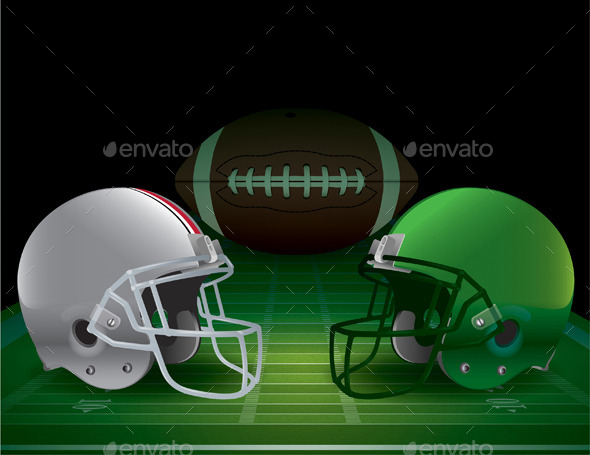 GraphicRiver American Football Championship Illustration 9953700