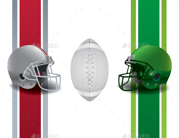 GraphicRiver American Football Championship Background 9953709