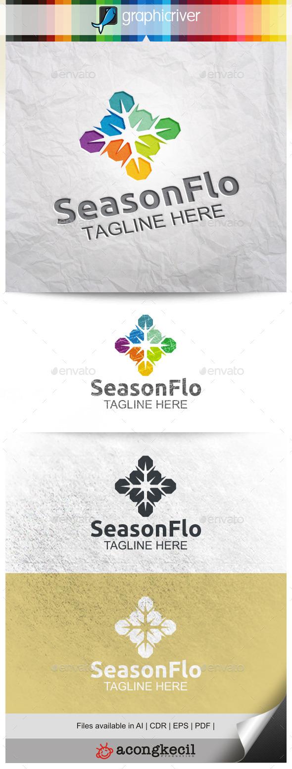 GraphicRiver Season Flower V.3 9953750