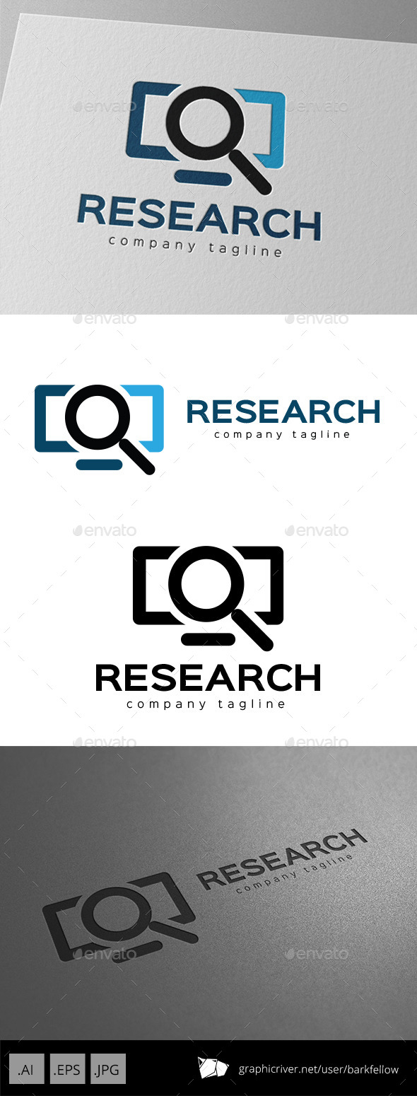 GraphicRiver Internet Research Logo Design 9953868