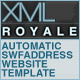 XMLROYALE | AUTO SWFADDRESS XML WEBSITE TEMPLATE - ActiveDen Item for Sale