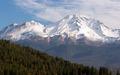 HIgh Ridge Snow Covered Mountain Cascade Range Mt Shasta - PhotoDune Item for Sale