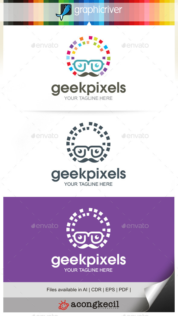GraphicRiver Geek Pixels 9953960