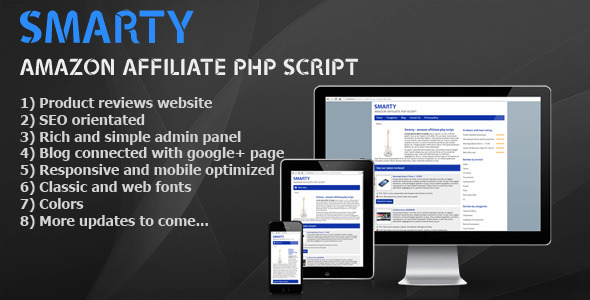 CodeCanyon Smarty amazon affiliate PHP script 9916824