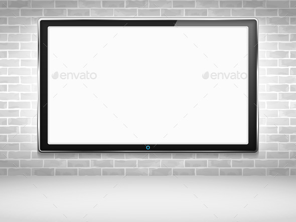 GraphicRiver lcd Tv Monitor 9954506