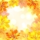 Autumn Background with Yellow Leaves. - GraphicRiver Item for Sale