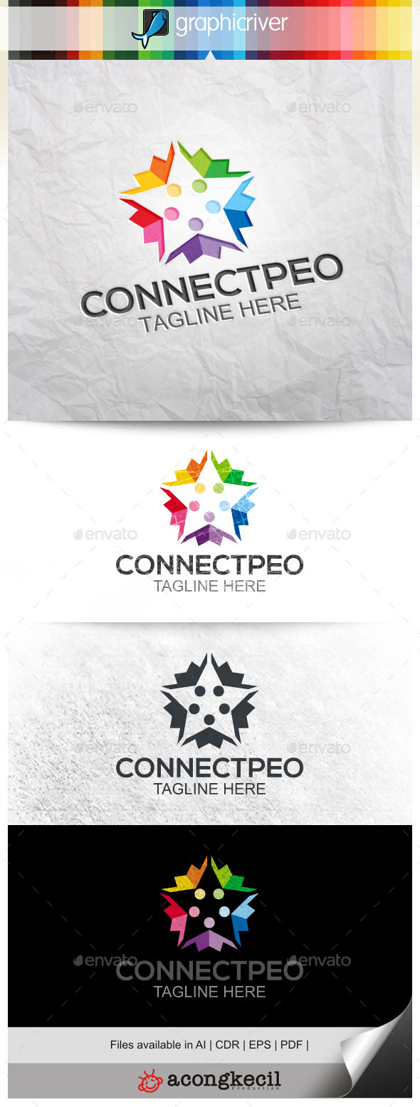 GraphicRiver Connecting People 9955900