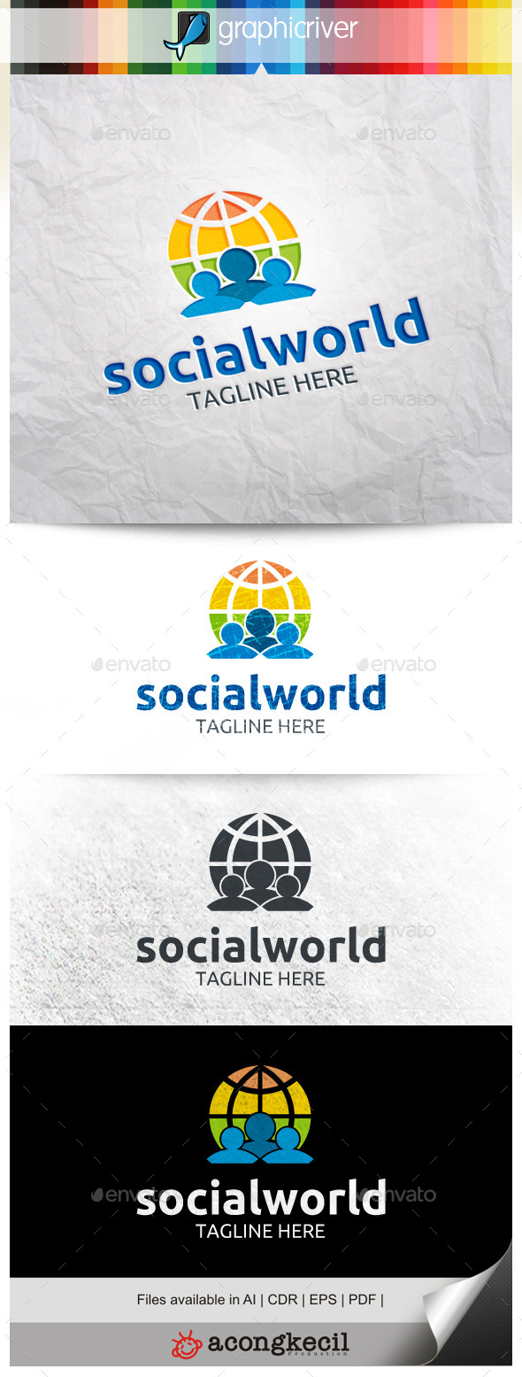 GraphicRiver Social World 9956021