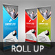 Creative Roll Up Banner - GraphicRiver Item for Sale