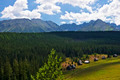 View of the valley Olczyska in the Polish Tatras - PhotoDune Item for Sale