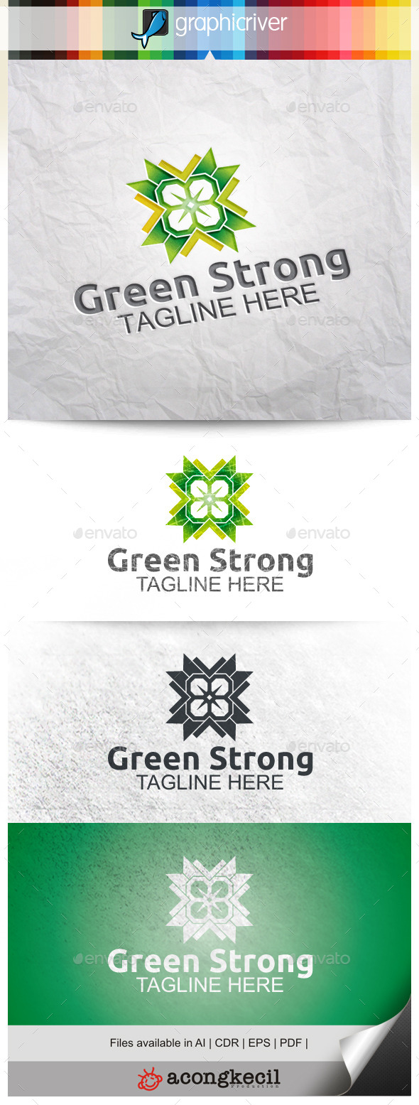 GraphicRiver Green Strong 9956212