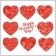 Red Hearts -  Valentines Day. - GraphicRiver Item for Sale
