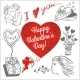 Valentines Day - Vector Set. - GraphicRiver Item for Sale